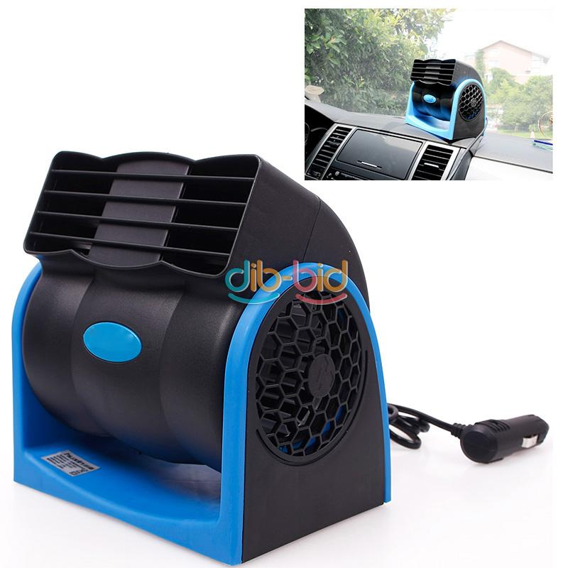 12V Car Truck Cooling COOL Air Vent Fan DC Portable Silent