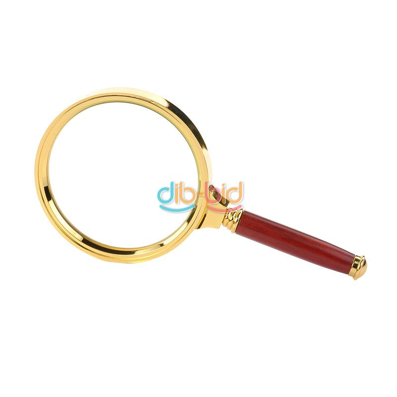 Reading Earrings: Handheld 5X 10X 15X 40 Magnifier Magnifying Glass Loupe