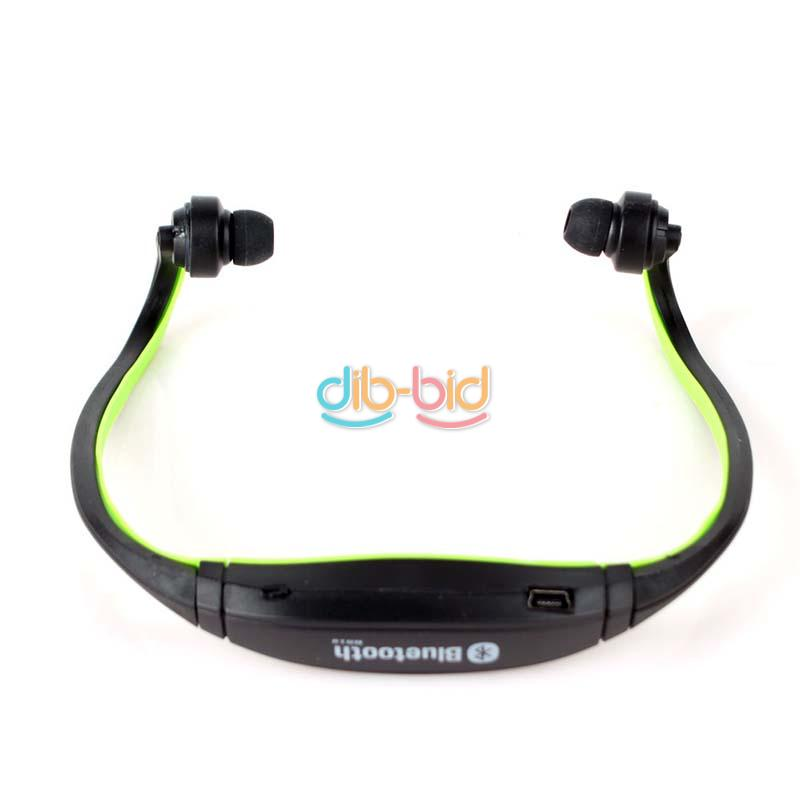 new sport wireless stereo bluetooth headset earphone headphone for cell phone. Black Bedroom Furniture Sets. Home Design Ideas