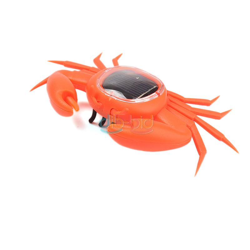 Cool Educational Toys : Cool solar powered mini animal insect educational toy